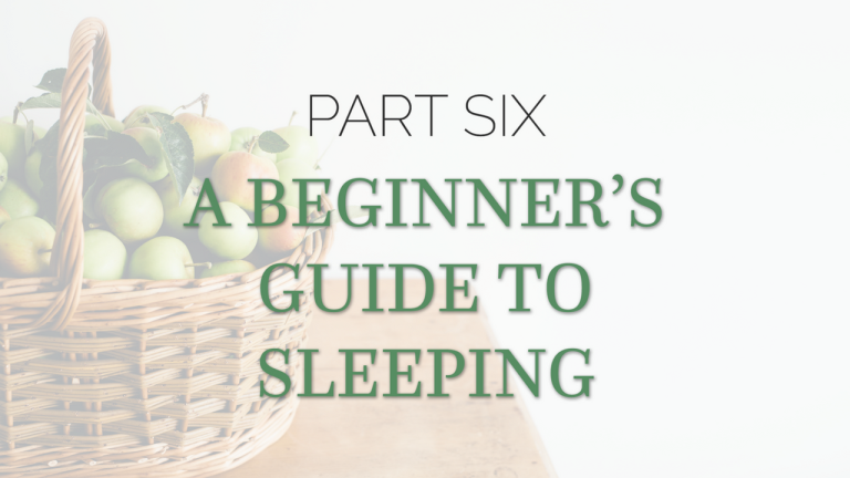 Benefits of Sleep: Beginners Guide To Sleeping for Health